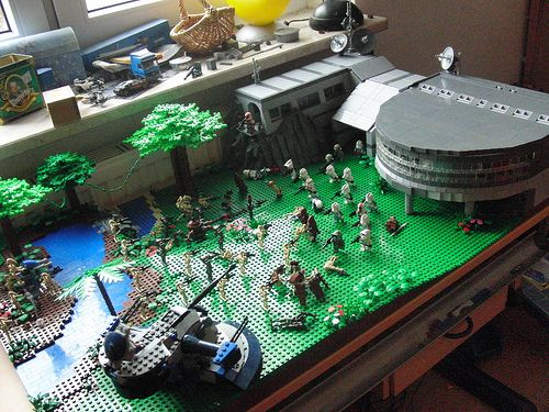 Star Wars Clone Base Star Wars Droid Base on