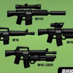 BrickArms M16 Rifle