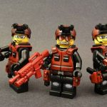 Red Squad Custom Minifigures by eclipseGrafx