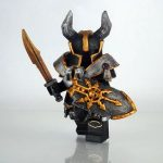 Chaos Knight Champion Custom Minifigure