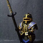 Chaos Paladin Gorz Custom Minifigure