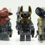 Space Freak Custom Minifigures