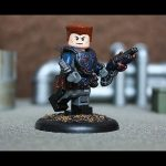 COG Soldier Custom Minifigure by Geoshift