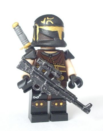 Wars aidenn bounty hunter custom minifigure custom lego minifigures