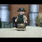 Desert Trooper Minifigure By Geoshift