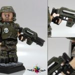 Alien vs Predator Colonial Marine Minifigure