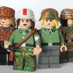 Female German Soldiers Minifigures