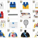 LEGO Olympic Team GB Minifigures Parted Out