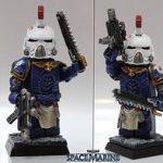 Lieutenant Kallistus Ultramarines Custom Minifigure