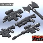 BrickArms Offensive Combat Prototypes