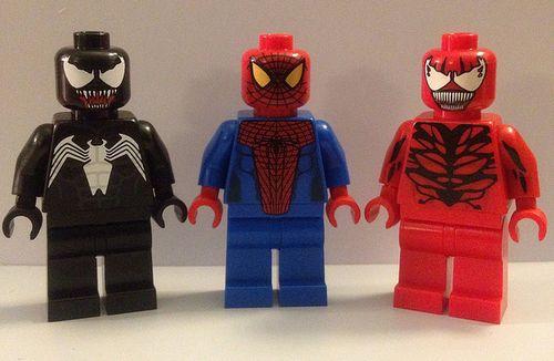 Lego Spiderman Malvorlagen Star Wars 1 Lego Spiderman: Christo Custom Minifigures