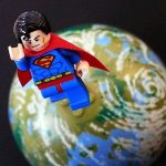 LEGO Super Heroes Superman Flying Into Space