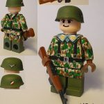 WWII LW Fallschirmjäger Custom Minifigure