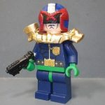 Judge Dredd Custom Minifigure