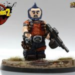 Salvador The Gunzerker Borderlands 2 Minifigure