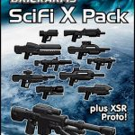 BrickArms Scifi X Pack