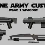 Clone Army Customs Weapons