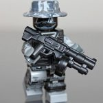 Future Urban Combat Trooper Minifigure