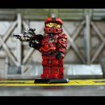Halo 4 Red Team Custom Minifigure