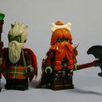 Hill Trolls The Elders Custom Minifigures