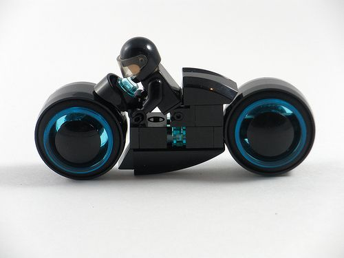 Lego Minifig Camera : Lego tron legacy light cycle custom lego minifigures