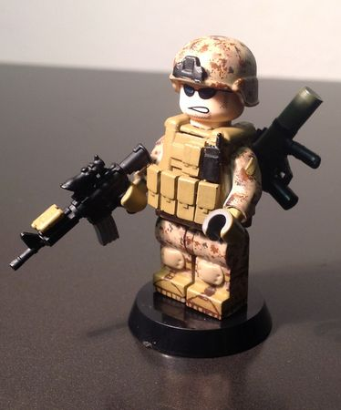 MarineSoldierCustomMinifigure