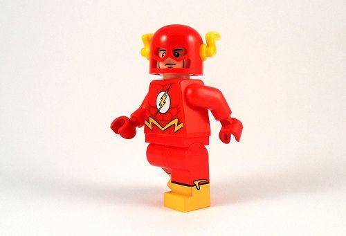 The Flash Custom Minifigure Custom Lego Minifigures