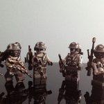 Halo Marine Urban Fireteam Custom Minifigures