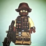 Pathfinder With Compass Custom Minifigure