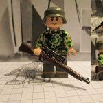 Wehrmacht Scharfschutze Eichtarn Custom Minifigure