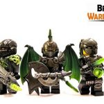BrickWarriors Hand Painted Custom Minifigures
