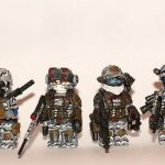Future Soldier Squad Custom Minifigures