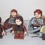 Game of Thrones House Stark Custom Minifigures