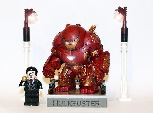 iron man hulkbuster suit custom minifigure  custom lego