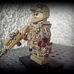 US Airborne Screaming Eagles Custom Minifigure