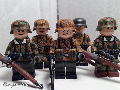 WWII Custom Minifigures | Custom LEGO Minifigures