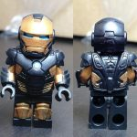 eclipseGrafx Black Suit Iron Man Custom Minifigure