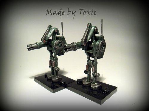 Custom Droid Minifigures Custom Lego Minifigures