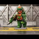 Halo 4 Warrior Custom Minifigure By Geoshift