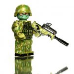 Woodland Camo Custom Minifigure
