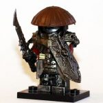 Demonic Samurai Custom Minifigure