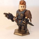 Gears of War Lone Wolf Custom Minifigure
