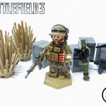 Battlefield 3 Engineer Custom Minifigure