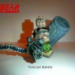 Metal Gear Vulcan Raven Custom Minifigure