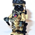 Tactical Assault Unit 32 Custom Minifigure
