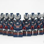 Minifigs4u American Armored Patriot Custom Minifigure