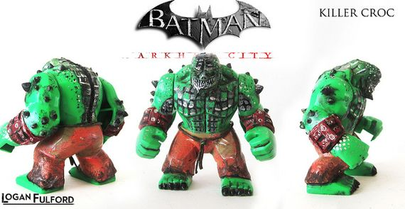 to Arkham City Killer Croc Lego Killer Croc 2013