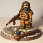 Metro Last Light Artyom Custom Minifigure