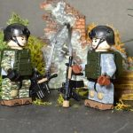 US Army 75th Rangers Custom Minifigures