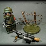 WWII Apocalypse Soldier Custom Minifigure